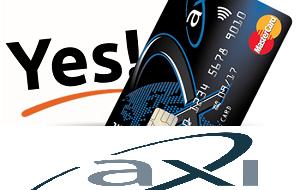 Card de credit Axi 2020