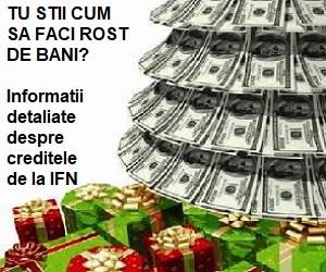 informatii detaliate despre creditele de la ifn