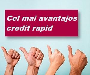 cel mai avantajos credit rapid 2020