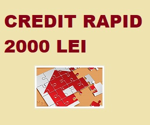 credit rapid 2000 lei