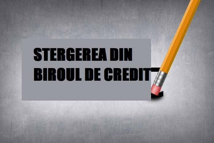 stergere Biroul de Credit gratuit